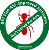 Fire Ant Approved Business Badge