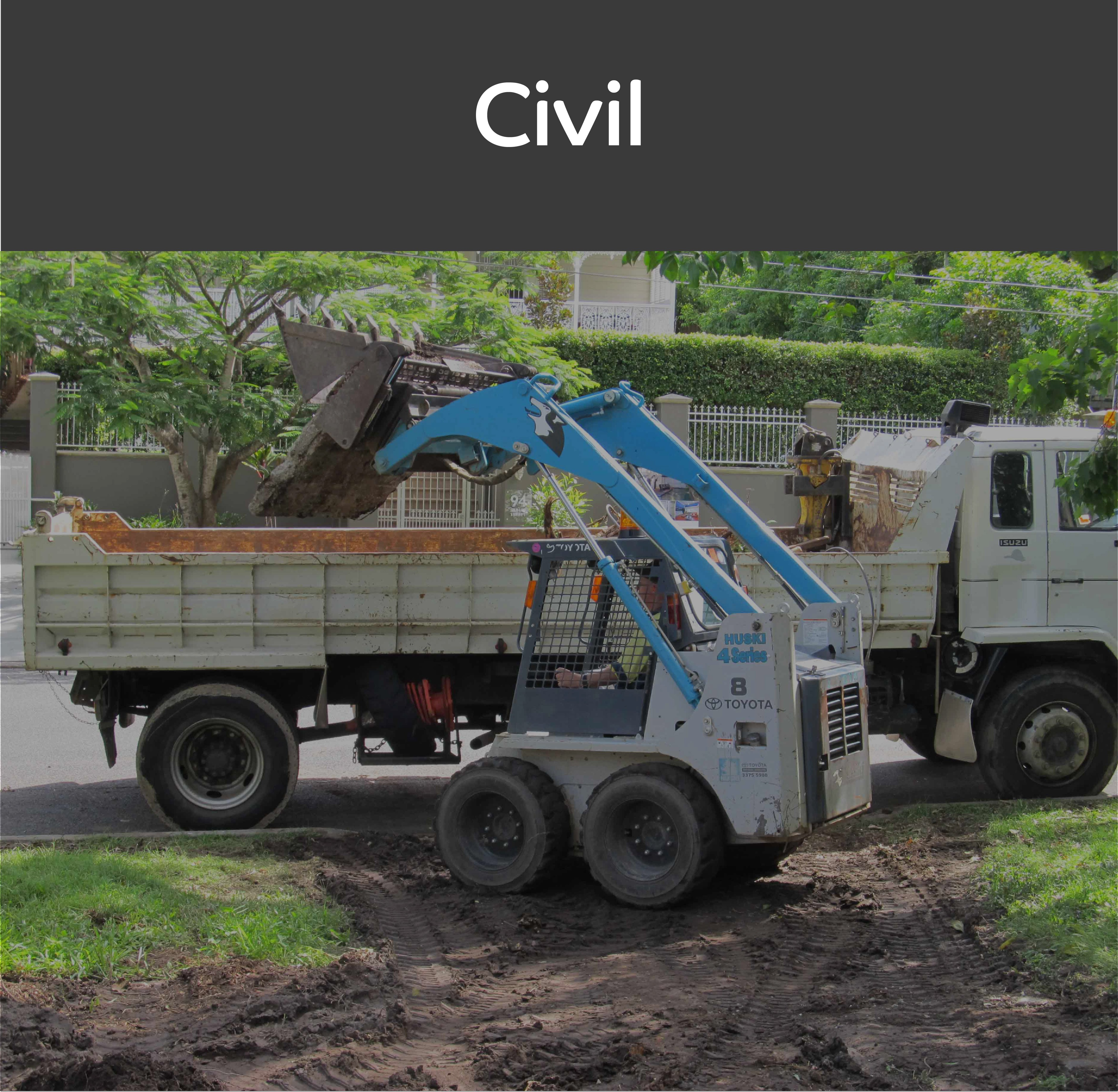 A1 Dusty Earthworks Civil Services Page Mobile